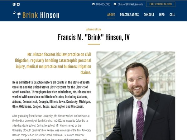 Brink Hinson - Civil Litigation Attorney
