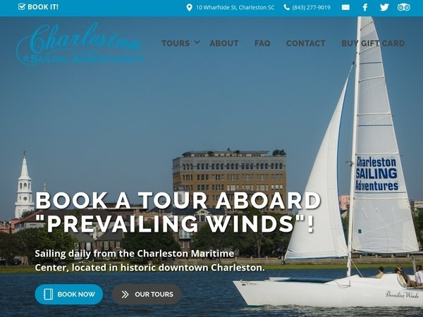 CharlestonSailingAdventures.com