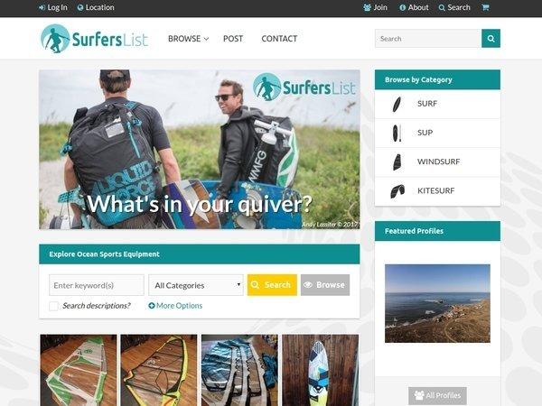 SurfersList.com